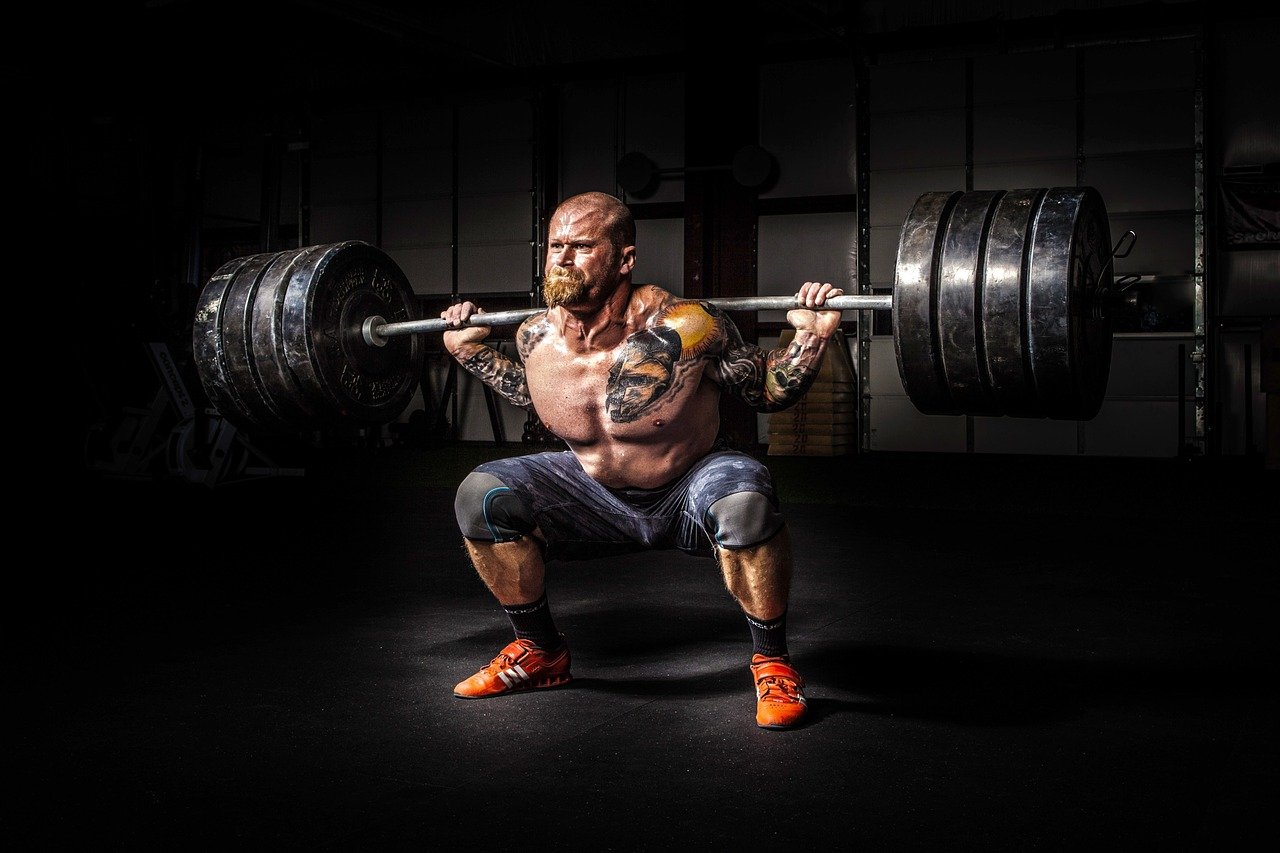 heavy back squat © Image by https://pixabay.com/users/Pexels-2286921/